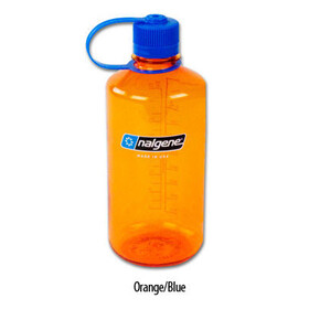 Nalgene 1L Narrow Mouth Bottles Orange/Blue (2034)